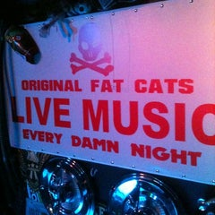 "Photo taken at Original Fat Cats by Ricky ""Fatts"" M. on 3/20/2012"
