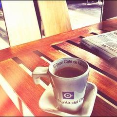 Photo taken at Café Punta del Cielo by Sergio H. on 2/1/2012