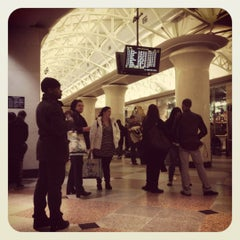 Photo taken at NJ Transit Waiting Area by Shannon P. on 1/3/2012