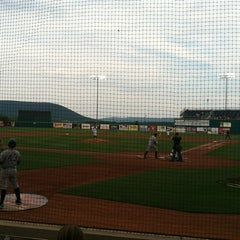 Photo taken at Medlar Field at Lubrano Park by Marshall M. on 7/12/2012