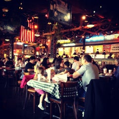 Photo taken at Portillo's Hot Dogs by Jen M. on 4/1/2012