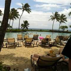 Photo taken at Grand Hyatt Kauai Resort and Spa by Ashleigh U. on 4/12/2012