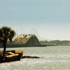 Photo taken at Three Mile Bridge by John P. on 8/5/2012