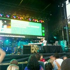 Photo taken at Tiësto College Invasion Tour @ Patriots Point by Nicholas W. on 9/23/2011