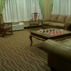 Photo taken at Holiday Inn Express Lancaster-Rockvale Outlets by Blair M. on 12/22/2011