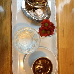Photo taken at Muizz Cafe & Restaurant by Artem Z. on 1/24/2012