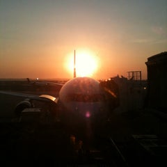 Photo taken at Delta Sky Club by Mark C. on 4/16/2012