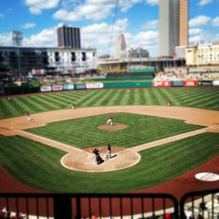 Photo taken at Parkview Field by Natasha B. on 8/5/2012