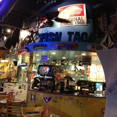Photo taken at Wahoo's Fish Taco by Patrick F. on 3/11/2012