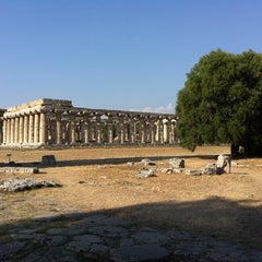 Photo taken at Area Archeologica di Paestum by Davide B. on 8/6/2011