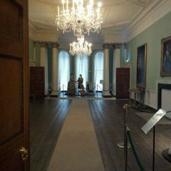 Photo taken at Rathfarnham Castle by Piaras M. on 1/14/2012