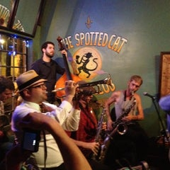 Photo taken at The Spotted Cat Music Club by Paul C. on 6/10/2012