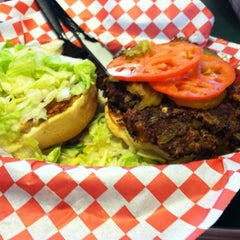 Photo taken at Patty Shack Burgers by heather y. on 8/28/2011