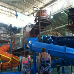 Photo taken at Water Park Of America by Jamie N. on 6/28/2012