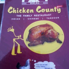 Photo taken at Chicken County by Sidhun M. on 1/6/2012