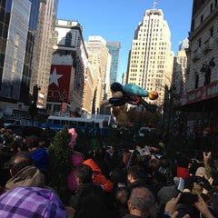 Photo taken at Macy's Parade Celebrity Rehearsals by Junior E. on 11/24/2011