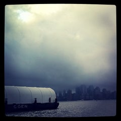 Photo taken at NY Waterway Ferry Terminal Hoboken South by Chris C. on 10/14/2011