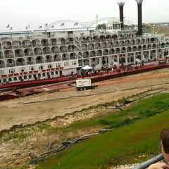 Photo taken at American Queen by Brian C. on 4/27/2012