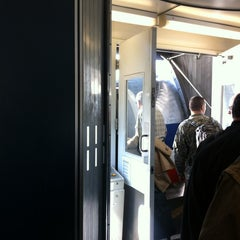 Photo taken at Gate D38 by Matthew C. on 3/3/2012