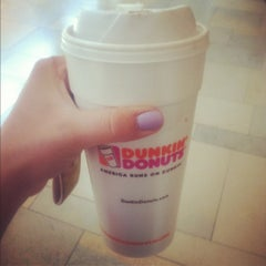 Photo taken at Dunkin' Donuts by Crystal S. on 6/4/2012