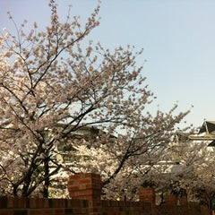 Photo taken at 이화여자대학교 신세계관 (Ewha Womans University Shinsegae Building) by Aran Erin C. on 4/17/2012