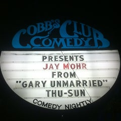 Photo taken at Cobb's Comedy Club by GG on 6/24/2012