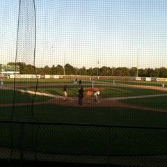 Photo taken at Sherman Baseball Stadium by Anna S. on 7/11/2012