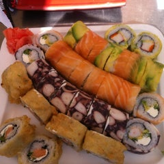 Photo taken at Niu Sushi by Andre on 9/9/2012