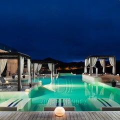 Photo taken at Sheraton Salobre Golf Resort & Spa by Sandra Simone L. on 2/4/2012