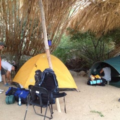 Photo taken at Camping Rancho Rodriguez by Tânia L. on 3/5/2012