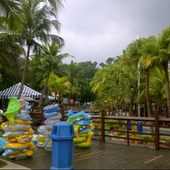 Photo taken at A'Famosa Water World by Cami S. on 9/1/2012