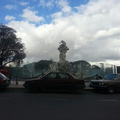 Photo taken at Fuente de las Nereidas by Diego F. on 8/26/2012