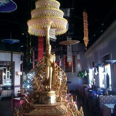 Photo taken at Thai Thani Restaurant by Brian M. on 5/20/2012