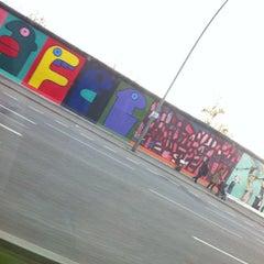 Photo taken at Spreeufer an der Eastside Gallery by localr on 4/15/2012