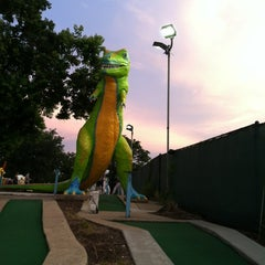 Photo taken at Peter Pan Mini Golf by ItGirl on 7/12/2012