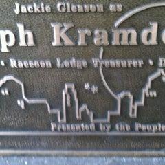 Photo taken at Ralph Kramden Statue by Rob on 2/16/2012
