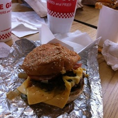 Photo taken at Five Guys by Jeff M. on 4/28/2012