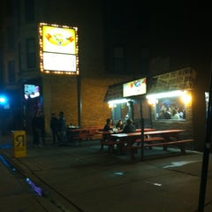 Photo taken at The Wiener's Circle by Ricardo H. on 5/8/2012