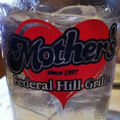 Photo taken at Mother's Federal Hill Grille by Damron C. on 3/24/2012