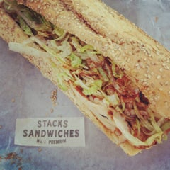 Photo taken at Stacks Sandwiches by Miss Magpie on 5/31/2012