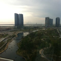 Photo taken at Sheraton Incheon Hotel by Eva C. on 5/27/2012
