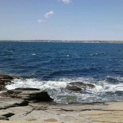Photo taken at Beavertail State Park by Ross on 4/10/2012