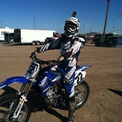 Photo taken at Canyon Speedway by Brandi S. on 6/10/2012