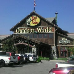 Photo taken at Bass Pro Shops by Tom F. on 9/29/2011