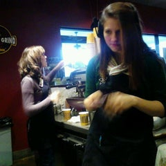 Photo taken at It's A Grind Coffee House by Kelsey W. on 2/2/2012