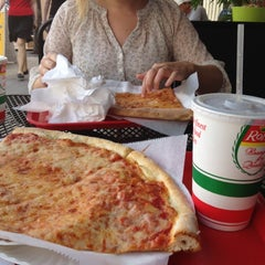 Photo taken at Eddie and Sam's Pizza by madi t. on 2/27/2012
