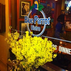 Photo taken at Blue Parrot Bistro by Sonya P. on 4/15/2011