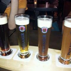 Photo taken at Brotzeit German Bier Bar & Restaurant by Tammy Ng 태. on 10/21/2011