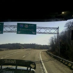 Photo taken at Ohio/Indiana State Line by Marietta R. on 3/10/2012