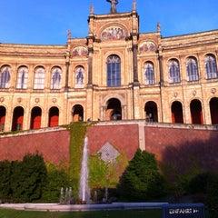 Photo taken at Bayerischer Landtag by Annop L. on 8/29/2012